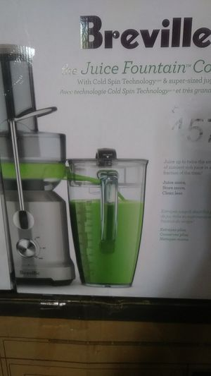 BREVILLE The Juice Fountain Cold for Sale in Victorville, CA