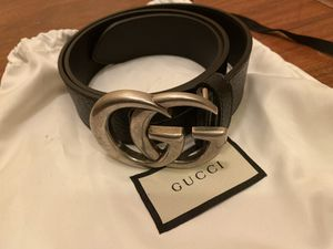 Gucci belt black size 80 for Sale in Snohomish, WA