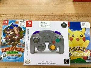 Nintendo Switch Games and controller for Sale in Riverside, CA