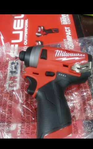 MILWUAKEE M12 FUEL BRUSHLESS 3 GEN IMPACT DRIVER TOOL ONLY BRAND NEW for Sale in San Bernardino, CA