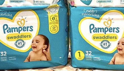 Pampers diapers and wipes $40 firm for Sale in Upland,  CA