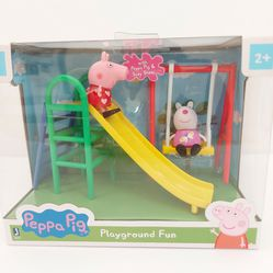 Peppa Pig Playground Fun Playtime Set for Sale in Long Beach,  CA