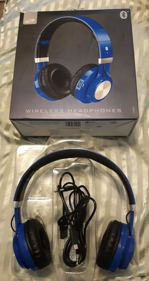 iLive Adjustable Bluetooth Headphones, blue color for Sale in Fort Washington, MD