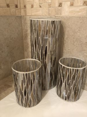 Set of three candle holders for Sale in Nashville, TN