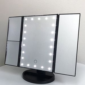$20 (new in box) makeup vanity mirror with lights 1x 2x 3x magnification battery or usb adapter for Sale in Whittier, CA