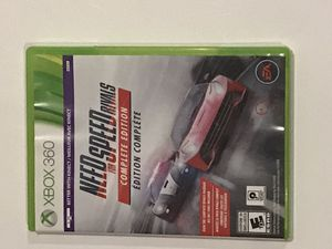 XBOX 360 Game Need for Speed: Rivals Complete Edition mint condition barely Used for Sale in Huntington Beach, CA