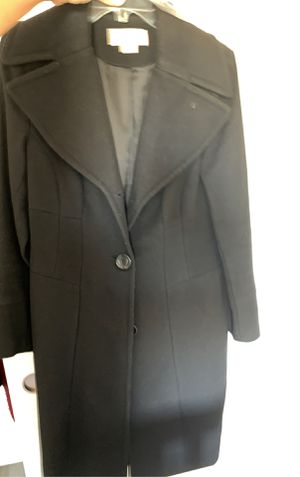 Michael kors long pea coat size 8 for Sale in Concord, CA
