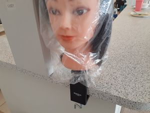 Cosmetology mannequin, new plus 3 used mannequins for practice plus stands for Sale in Greensboro, NC