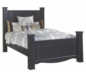 Queen bed frame, no mattress for Sale in Tacoma, WA