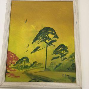 Rodney Demps Highwaymen Painting Set in nice wooden frame Size 18x 22 for Sale in Port St. Lucie, FL