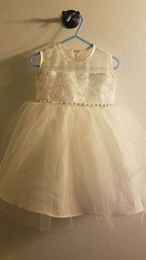 ivory flower girl dress for Sale in Swansea, IL