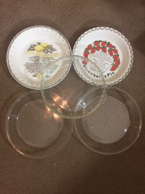 5 Pie dishes for Sale in Clovis, CA