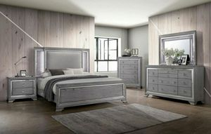 4 pc LED bedroomset for Sale in Fresno, CA