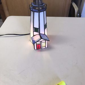 Stained Glass Lighthouse Desk Lamp for Sale in Henderson, NV