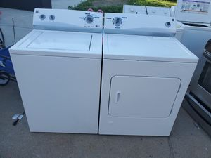 kenmore washer and gas dryer set (driveway or curbside drop off available) for Sale in Dearborn Heights, MI