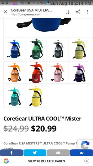 COREGEAR ULTRA COOL PERSONAL MISTER for Sale in Los Angeles, CA