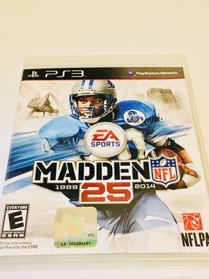 Madden 25 (PS3) for Sale in Raleigh, NC