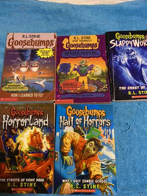 5 Goosebumps books for Sale in Wallingford, CT