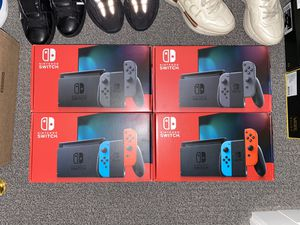 Nintendo Switch Neon Blue and Red Gray Grey for Sale in Cambridge, MA