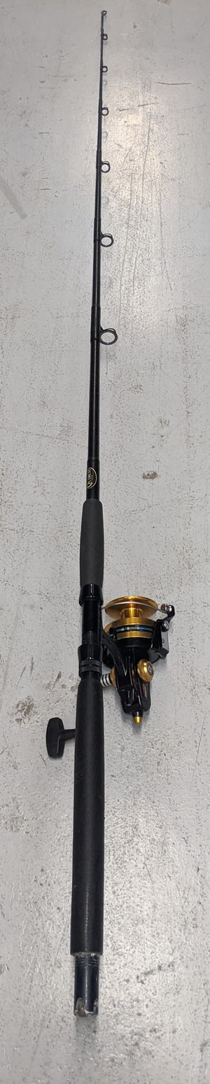 Serviced Penn Spinfisher 9500SS Spinning Rod & Reel Combo. Very Nice Condition. Ready for fishing. for Sale in Miami, FL