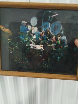 Old Late 80s Photo Of Bill And Micky Of The Grateful Dead for Sale in Arvada,  CO