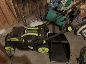 Ryobi Lawn mower and weed wacker for Sale in Colorado Springs, CO