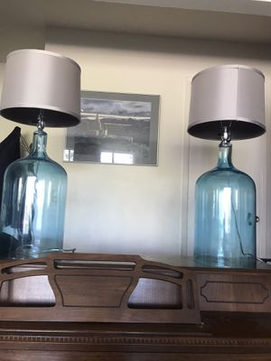 2 Beautiful lamps for Sale in Foster City, CA