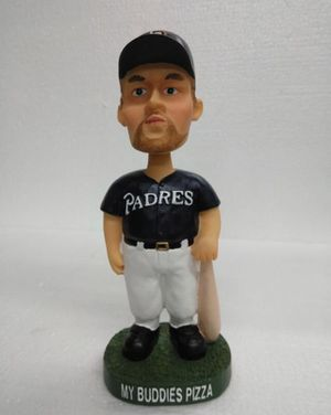 BURROUGHS #21 MY BUDDIES PIZZA PADRES Bobblehead for Sale in Lake Elsinore, CA