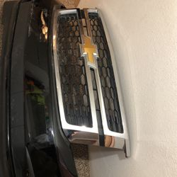 Chevy Tahoe suburban front bumper cover with grill for Sale in Tacoma,  WA