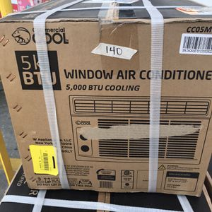 5k BTU Window Air Conditioner for Sale in St. Petersburg, FL