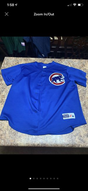 Chicago Cubs jersey xl for Sale in Gila Bend, AZ