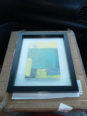 AZ Home Contempo 8x10 Float Frame-Black $20...... for Sale in Milton, WA