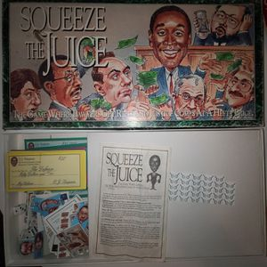 Squeeze The Juice Board Game for Sale in Long Beach, CA