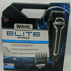 Wahl Clipper Elite Pro High-Performance Home Haircut & Grooming Kit for Men for Sale in North Haven, CT