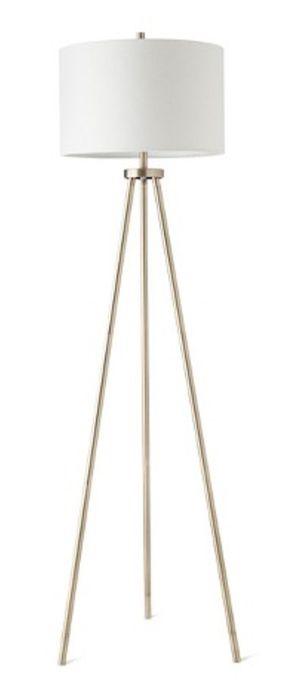 Brass Tripod Floor Lamp for Sale in Seattle, WA