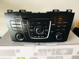 2012 MAZDA 5 RADIO CD MP3 PLAYER OEM RADIO for Sale in Corona, CA