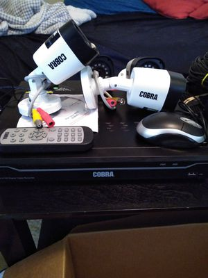 Cobra 8 Channel Surveillance Camera System for Sale in Seattle, WA