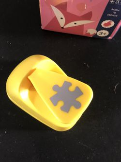 "1"" Puzzle Piece Paper Punch - Say That 5 Times Fast for Sale in Stanwood,  WA"