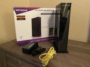 Netgear AC1750 Wi-Fi Cable Modem Router for Sale in Scottsdale, AZ