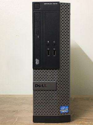 DELL Optiplex 3010 SFF Core i3 Corei3 4GB RAM 128GB SSD Windows 10 HDMI dual display desktop computer for Sale in Pembroke Pines, FL