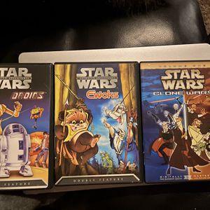 3 Stars Wars Movies for Sale in Novi, MI