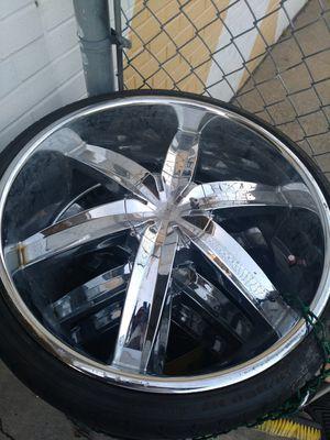 22 inch rims universal for Sale in Norfolk, VA