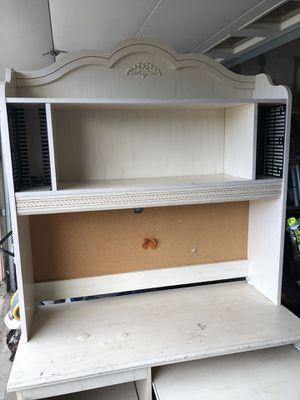 Desk with topper for Sale in Pico Rivera, CA