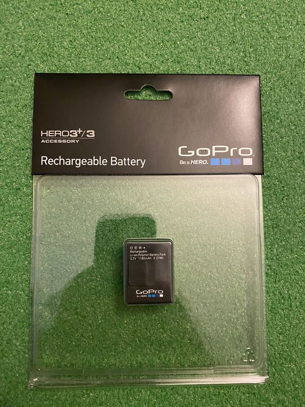 GoPro Hero 3/3+ rechargeable battery