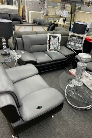 $39 Down  🍃🍂 BEST DEAL SPECIAL] Matteo Gray/Black Living Room Set 280 for Sale in Jessup, MD