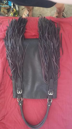 Urban originals,fringe purse, black, and designed in Australia. for Sale in Modesto, CA