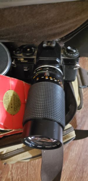Sears Ks-2 35mm Camera + 50mm & 70-210mm Lenses + 17-a Flash for Sale in Lebanon, TN