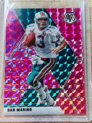 NFL 2020 Panini Mosaic Miami Dolphins Dan Marino Insert Card for Sale in North Ridgeville, OH