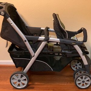 CHICCO Corrina double Stroller (gently Used)like New for Sale in Phoenix, AZ