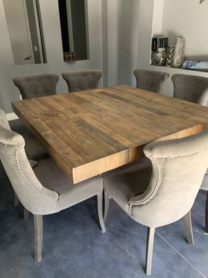 Dining room table-seats 8 taking best offer....flexible on price for Sale in Phoenix, AZ